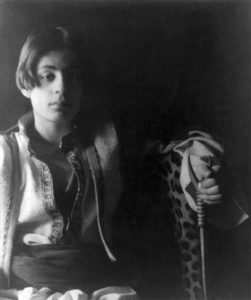 Early Picture of Khali Gibran